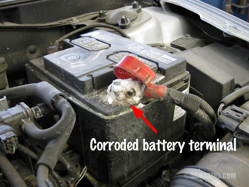 Why Do Battery Terminals Get Corroded Aircooled Vw South Africa