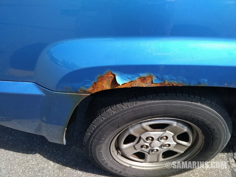 How To Spot Signs Of Accident Repair Rust Or Paint Job When
