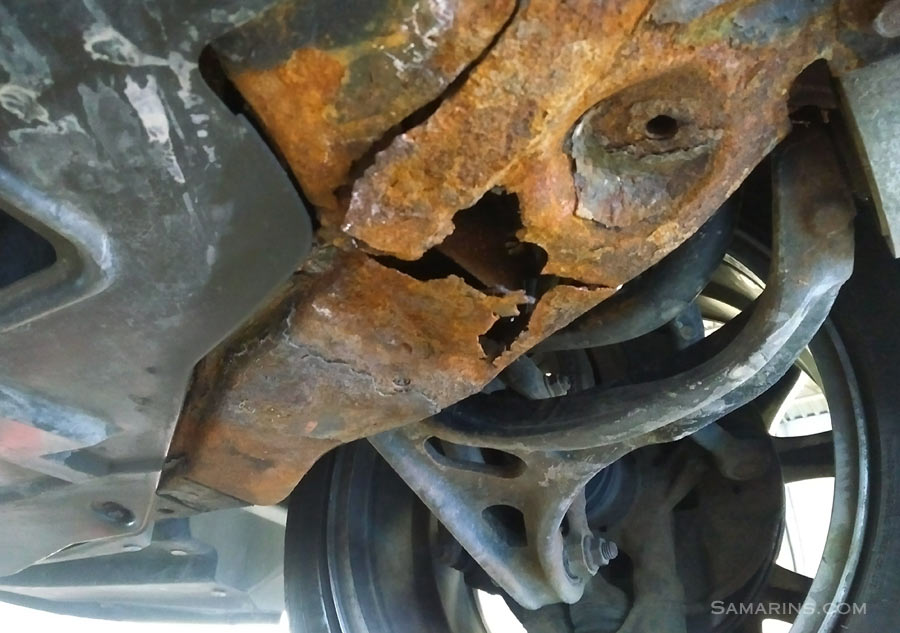How to spot signs of accident repair, rust or paint job when