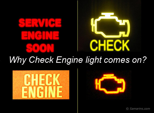 Check Engine - Service Engine Soon light