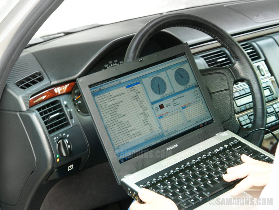 Scanning The Car Computer For Check Engine Codes