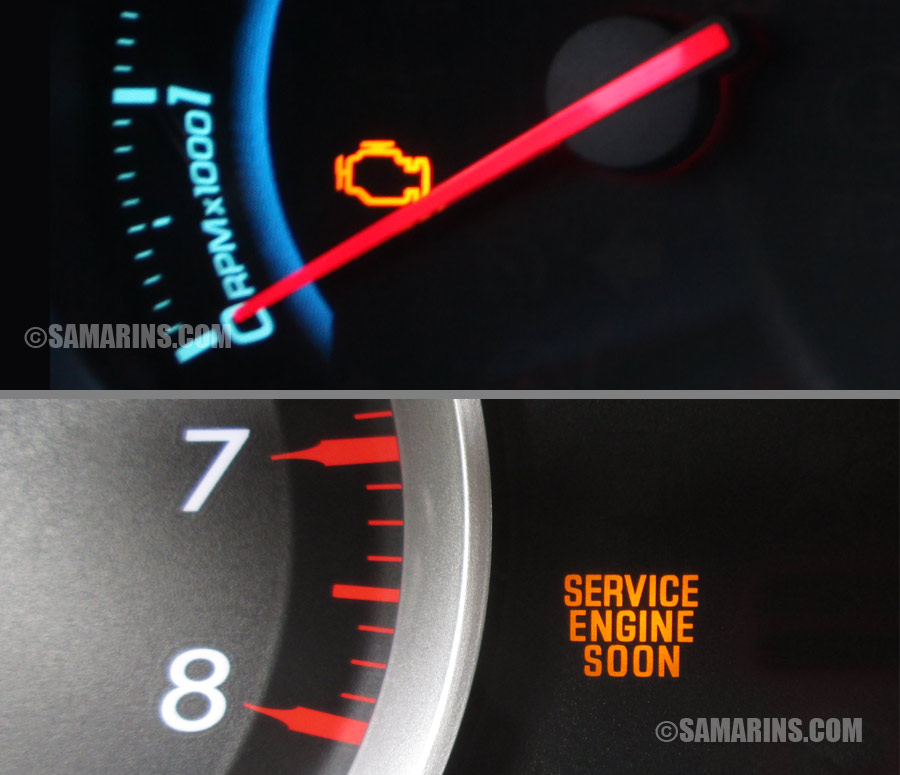 Why Does The Check Engine Light Come On?
