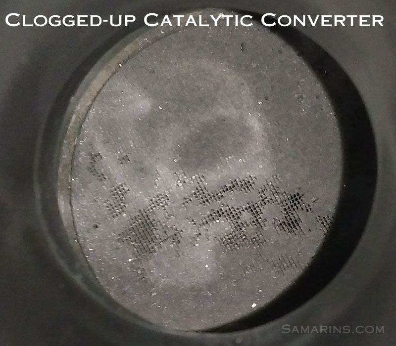 Clogged Up Catalytic Converter on Volvo Xc90 Fuel Pressure Sensor