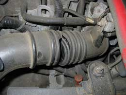 Cracked Intake Snorkel on 2004 Honda Civic Fuel Filter Location