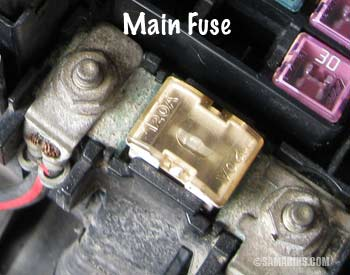 ford fuse box how to check a    fuse    in a car  how to check a    fuse    in a car
