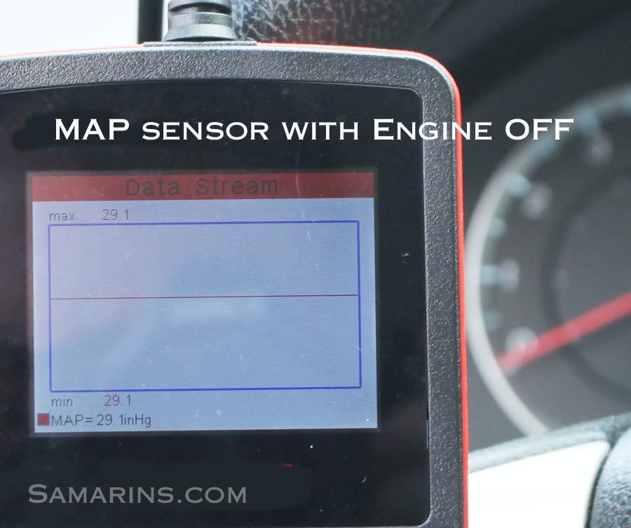 P0106 Manifold Absolute Pressure/Barometric Pressure Circuit Range