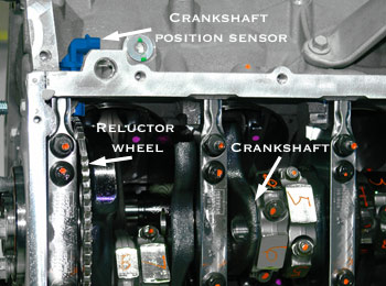 Crankshaft position sensor how it works symptoms