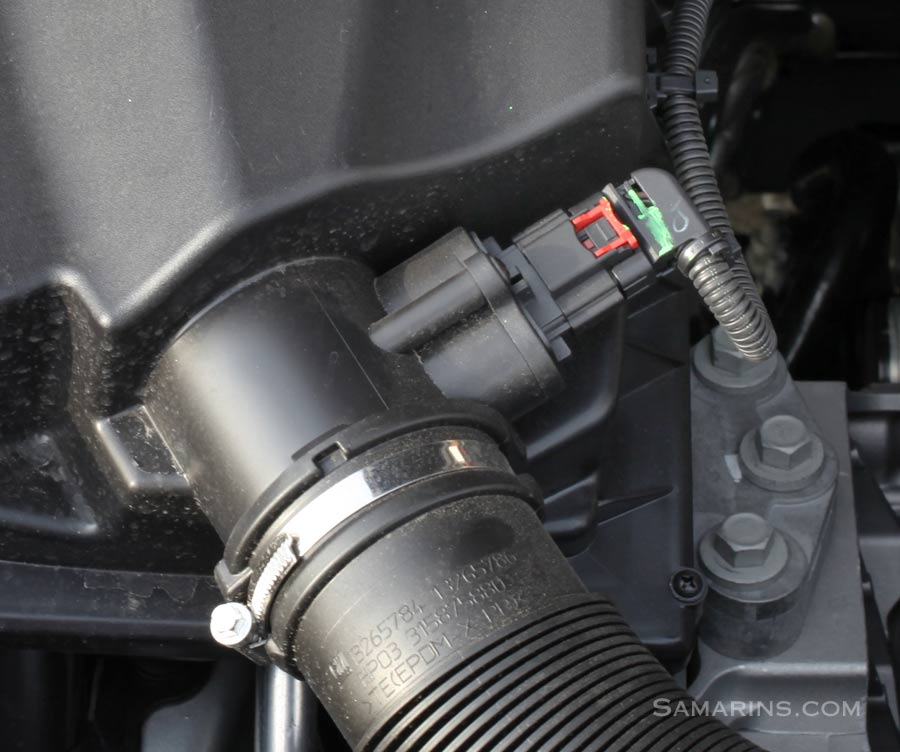 M Air flow Sensor (MAF): how it works, symptoms, problems, testing Nissan Maf Sensor Wiring Diagram on
