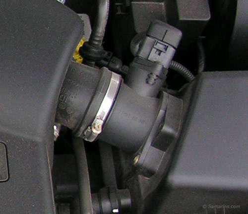 Mass Airflow Sensor on Dodge Codes P0700