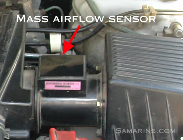 Nissan Maf Sensor on 2001 Ford 5 4 Engine Diagram