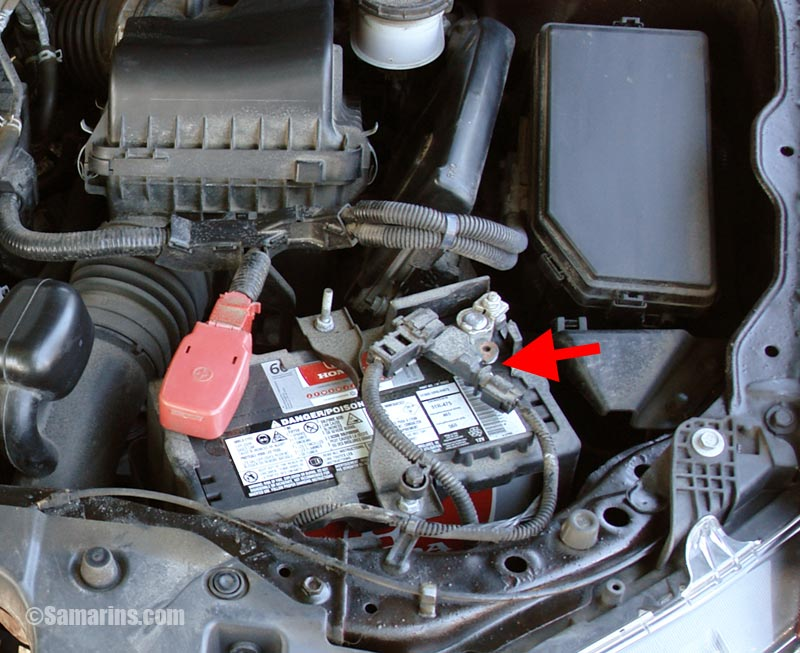 [SCHEMATICS_48IS]  Battery sensor: how it works, problems, checking, battery replacement | 2007 Civic Battery Wiring Harness |  | Samarins.com
