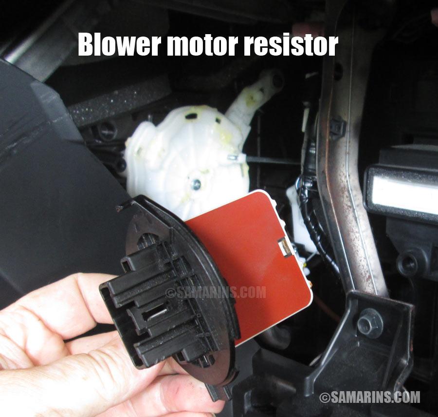 2003 xterra wiring diagram blower motor  resistor how it works  symptoms  problems  blower motor  resistor how it works  symptoms  problems