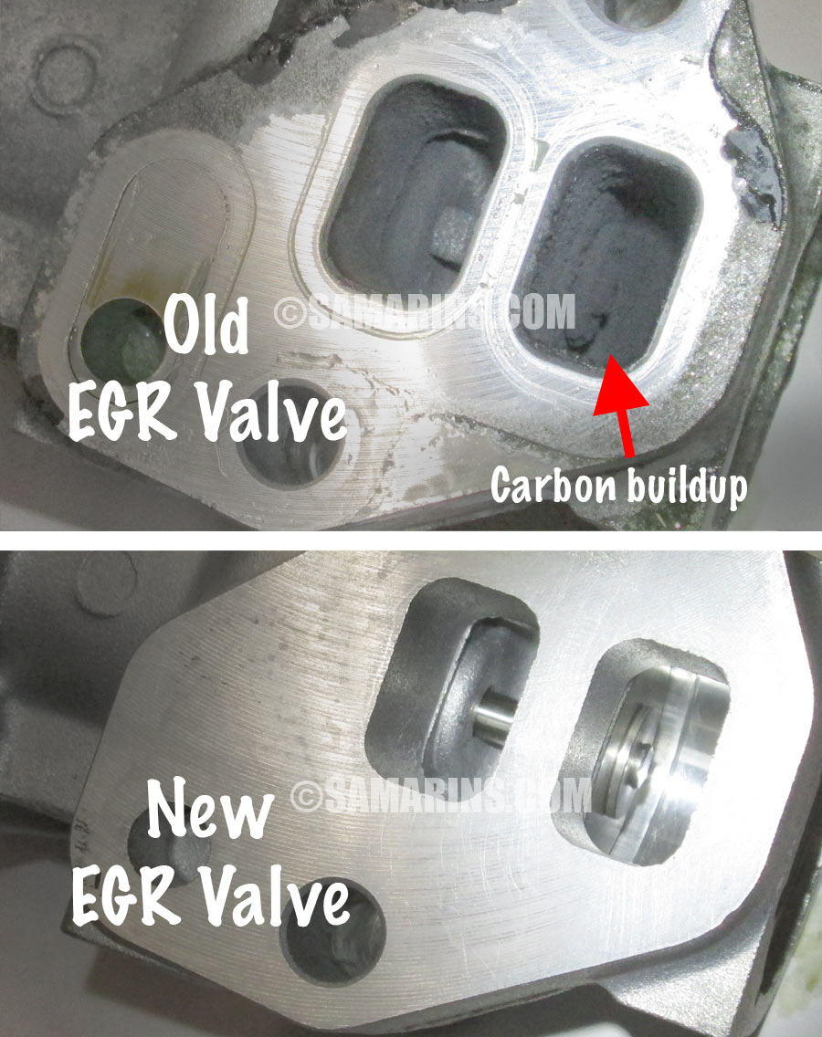 Clogged Catalytic Converter Symptoms >> EGR valve: problems, symptoms, testing, replacement