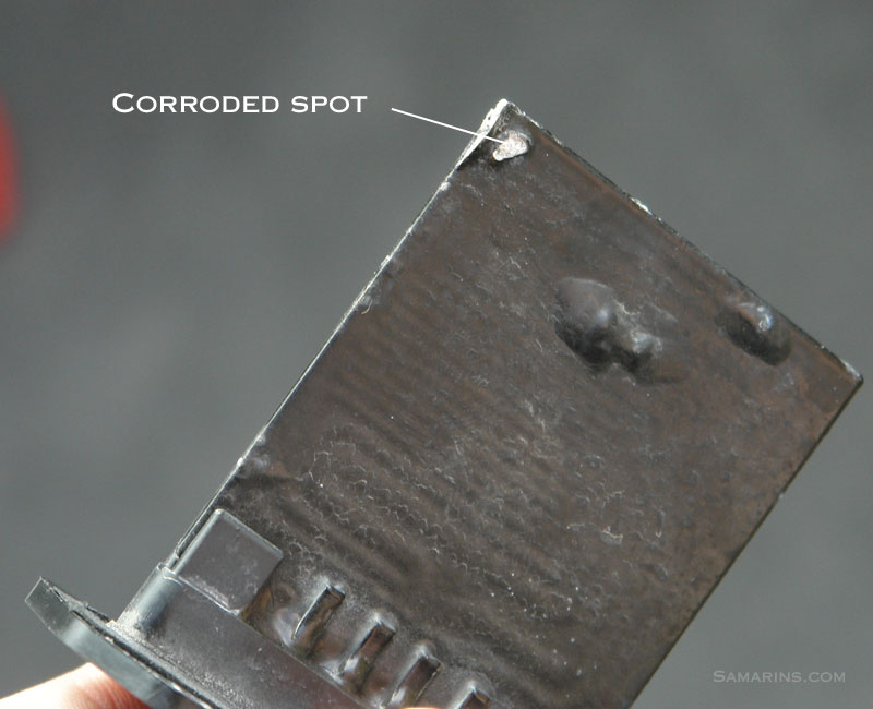 Bad Blower Motor Resistor Large on 2000 S10 Blower Motor Resistor Location