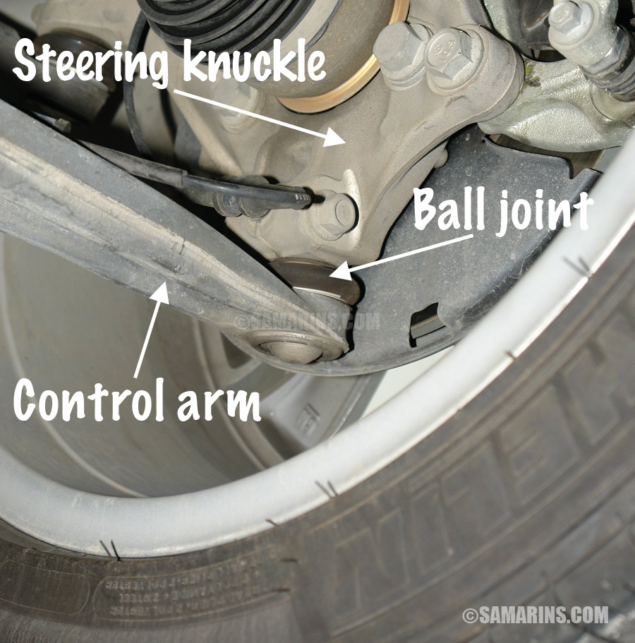 control arms have a very important role holding both front wheels on the  road  if a control arm is excessively worn, damaged or bent, the vehicle is  not