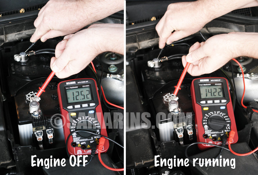 battery voltage test alternator, how it works, symptoms, testing, problems, replacement 2003 ford escape alternator wiring diagram at nearapp.co