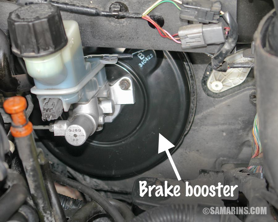 brake booster is one of the possible sources of vacuum leaks