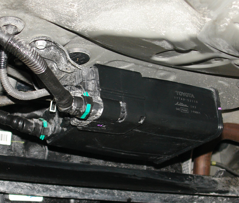 Charcoal Canister Large on 2006 Cadillac Cts Engine Removal