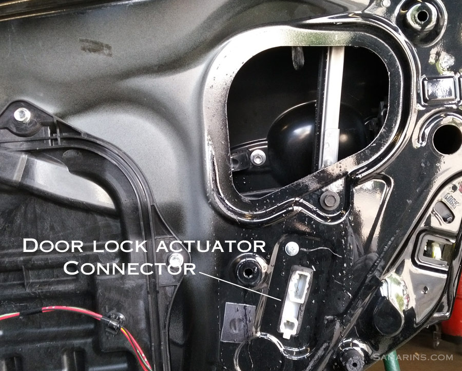 door lock actuator assembly