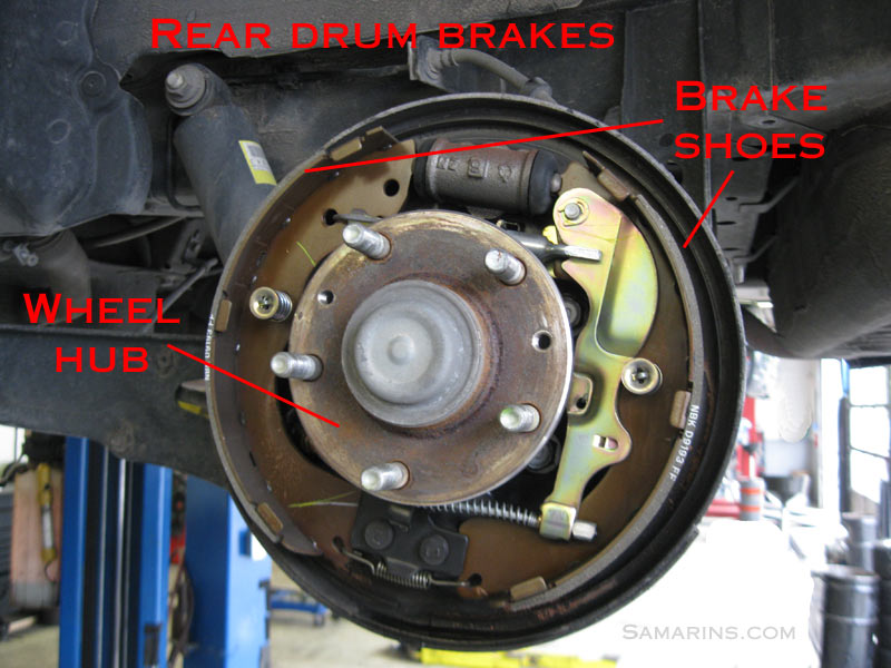 Drum Brakes Wheel Hub on Ford Ranger Rear Brake Diagram