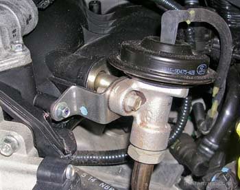 EGR valve: problems, symptoms, testing, replacement