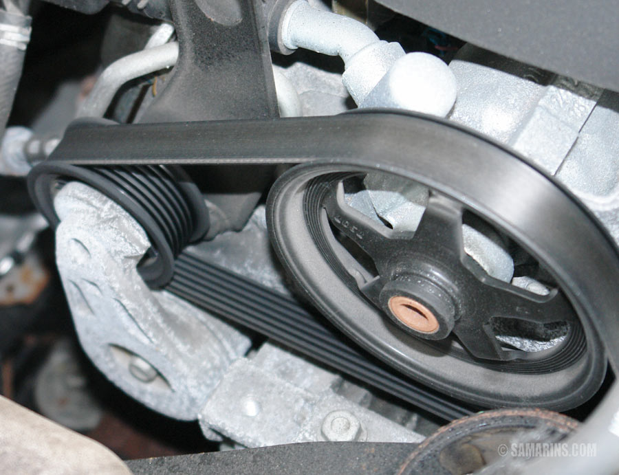 2010 Mitsubishi Outlander Serpentine Belt Routing