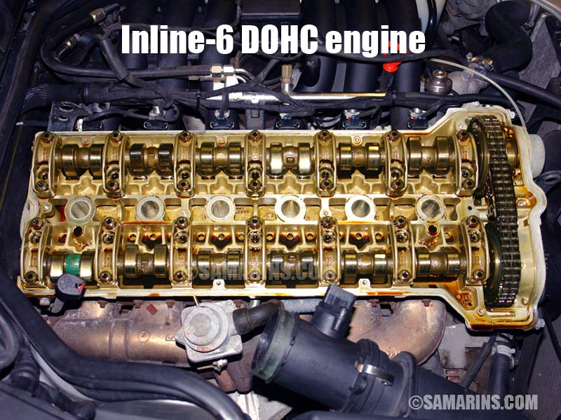 mercedes-benz inline-6 dohc engine