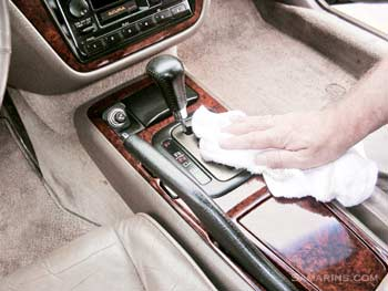 how to clean car seats fabric at home
