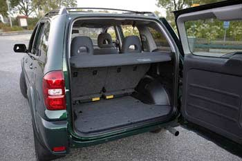 Lovely Toyota RAV4 Cargo Area
