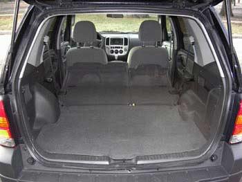 2008 Ford Escape Interior Dimensions