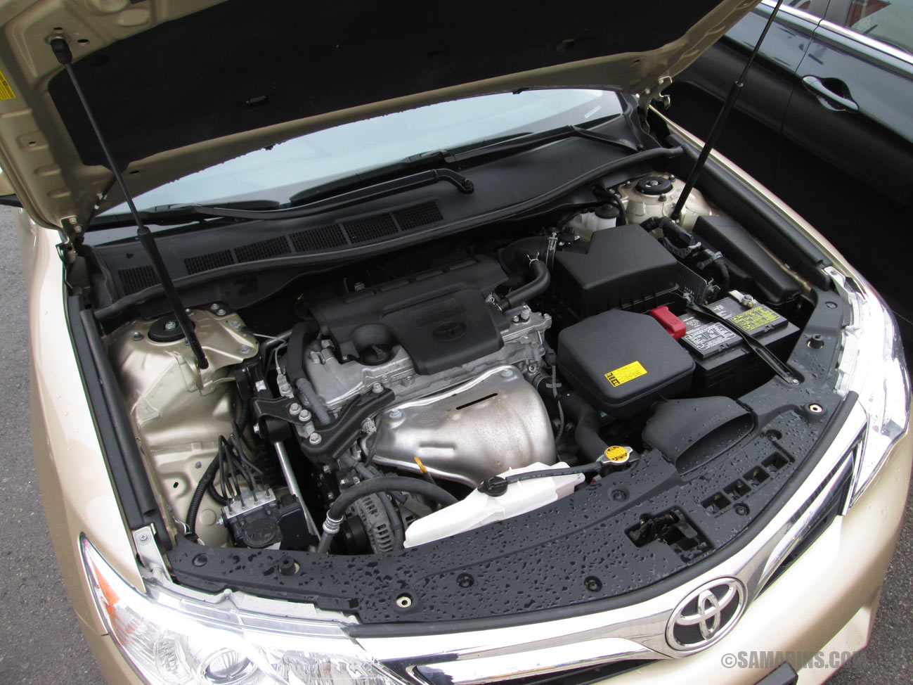 Toyota Camry 2012-2014: problems and fixes, fuel economy