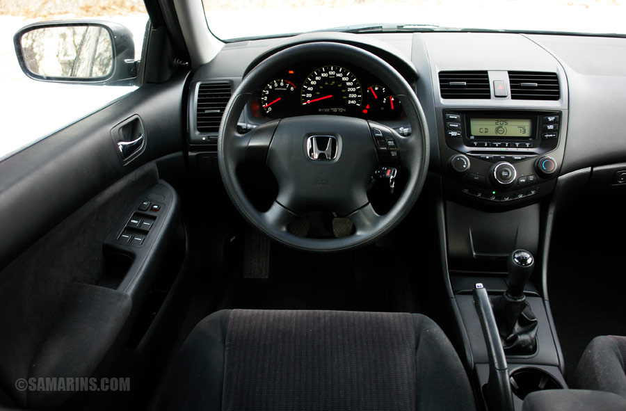 Honda Accord 2003 Interior
