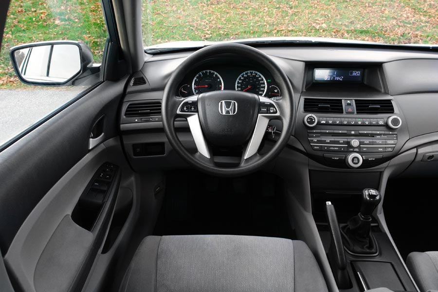 Honda Accord Interior 2009