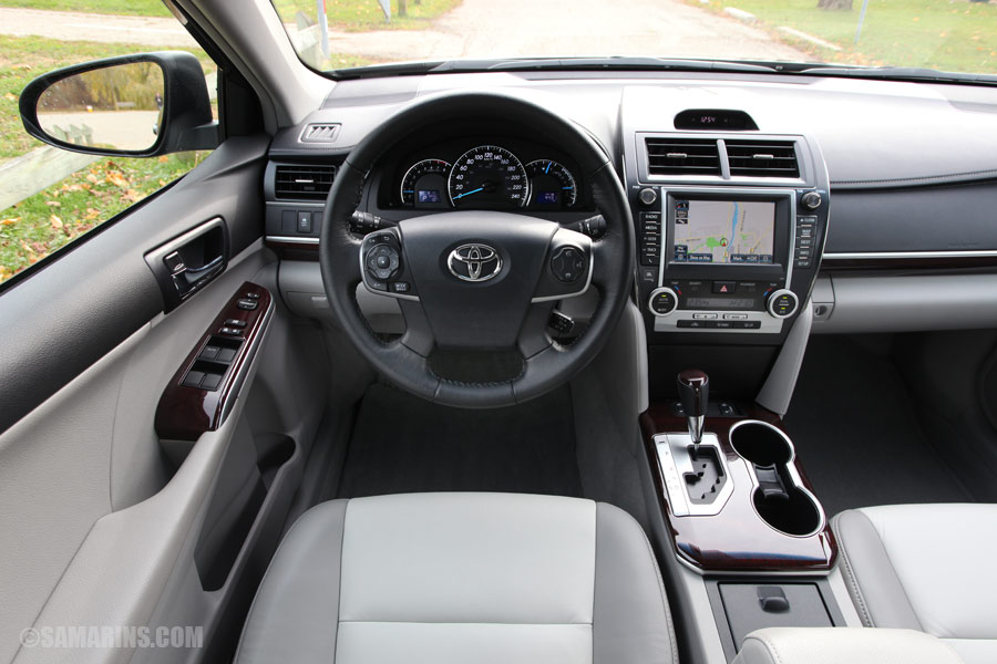 Beautiful 2012 Toyota Camry Interior