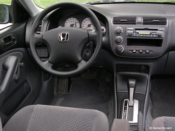 Charming 2005 Honda Civic Interior Design
