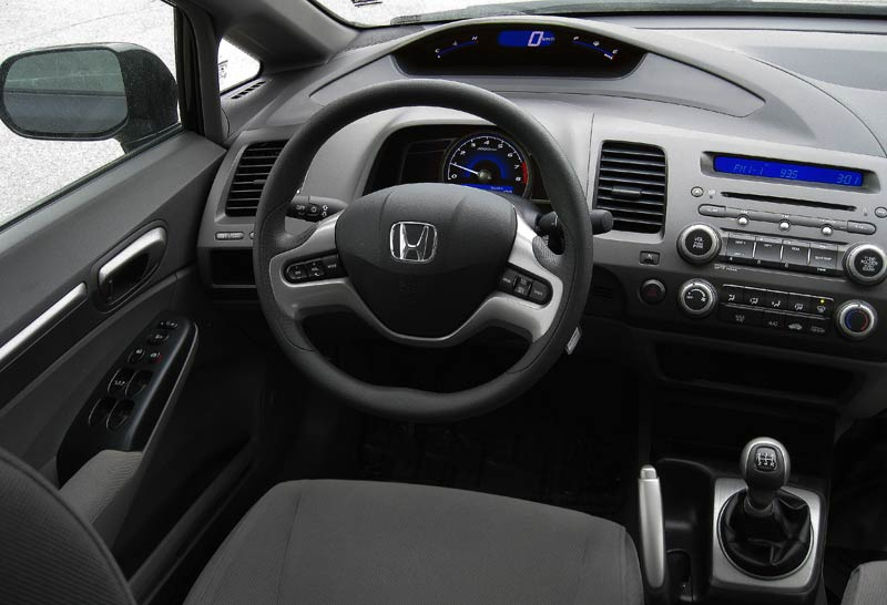2007 Honda Civic Interior