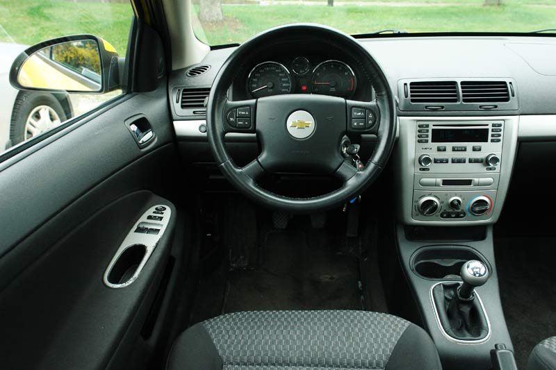 Chevrolet Cobalt Coupe Interior