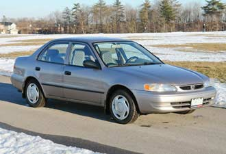 Used Toyota Corolla 19982002 review