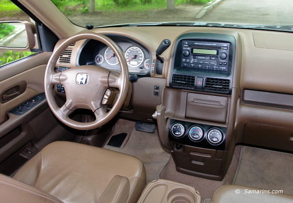 2004 Honda CR V Interior