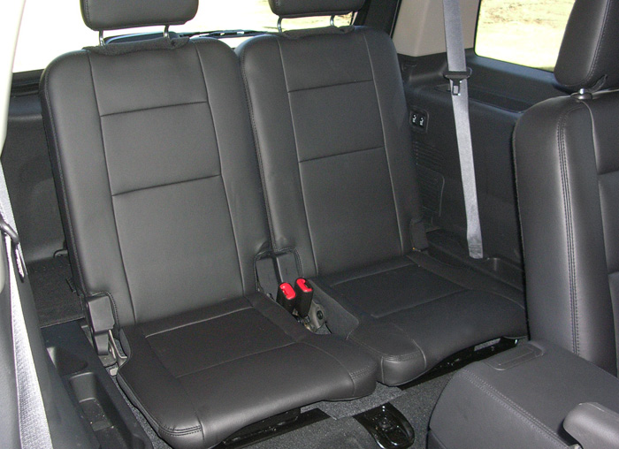 ford explorer third row seats
