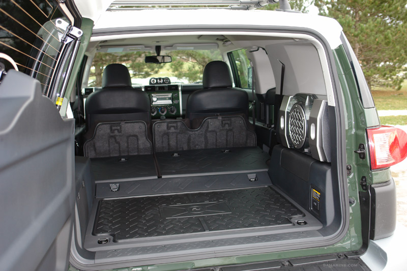 Toyota FJ Cruiser 2007-14 4WD system, mechanical, driving experience