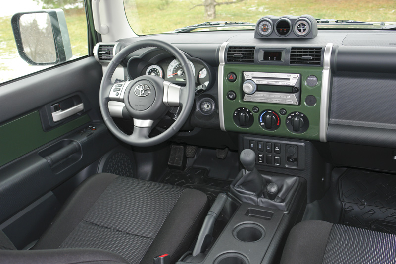 Toyota Fj Cruiser 2007 14 4wd System Mechanical Driving