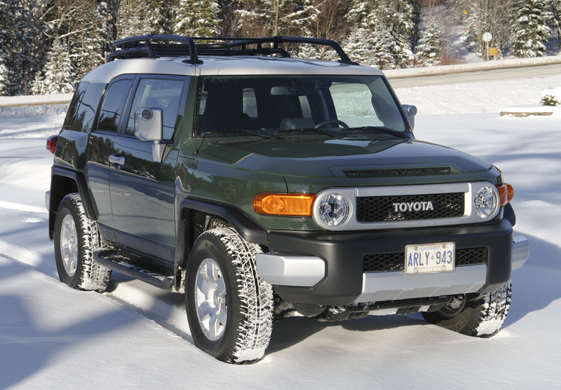 toyota fj cruiser 2007 14 4wd system mechanical driving. Black Bedroom Furniture Sets. Home Design Ideas