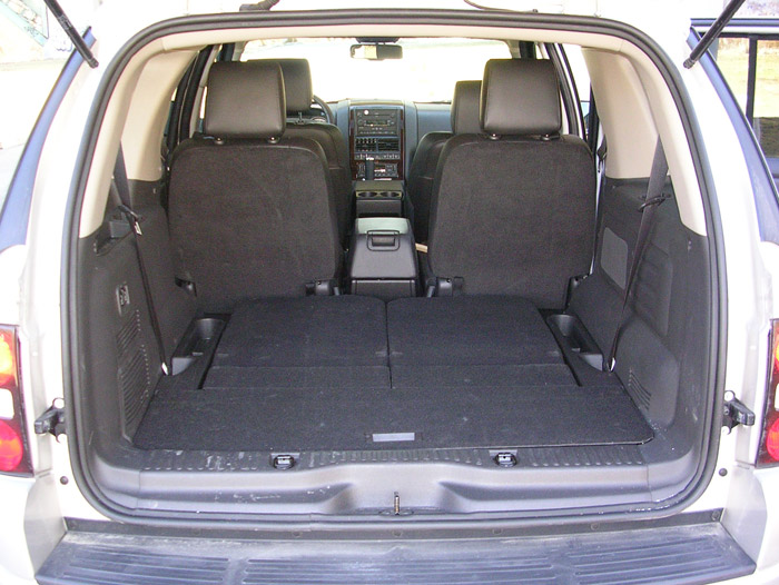 ford explorer cargo area