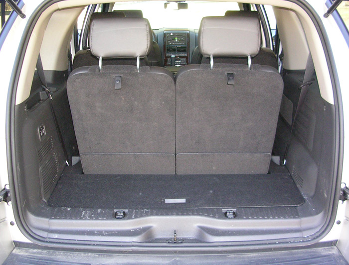 ford explorer rear seats up ford explorer cargo - Ford Explorer 2015 Trunk Space