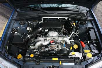 2003 Subaru Forester Engine