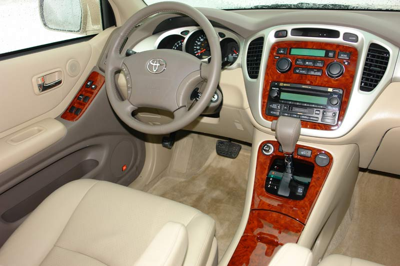 2007 Toyota Highlander Interior
