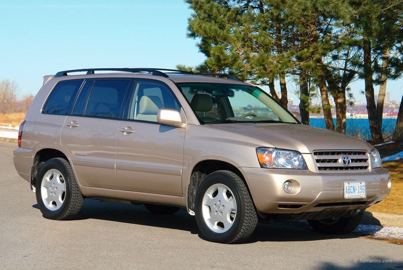 Toyota Highlander Vs Honda Pilot >> Toyota Highlander 2001-2007: common problems, maintenance, fuel economy, photos, specs