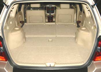 2007 Toyota Highlander Third Row Seats Down
