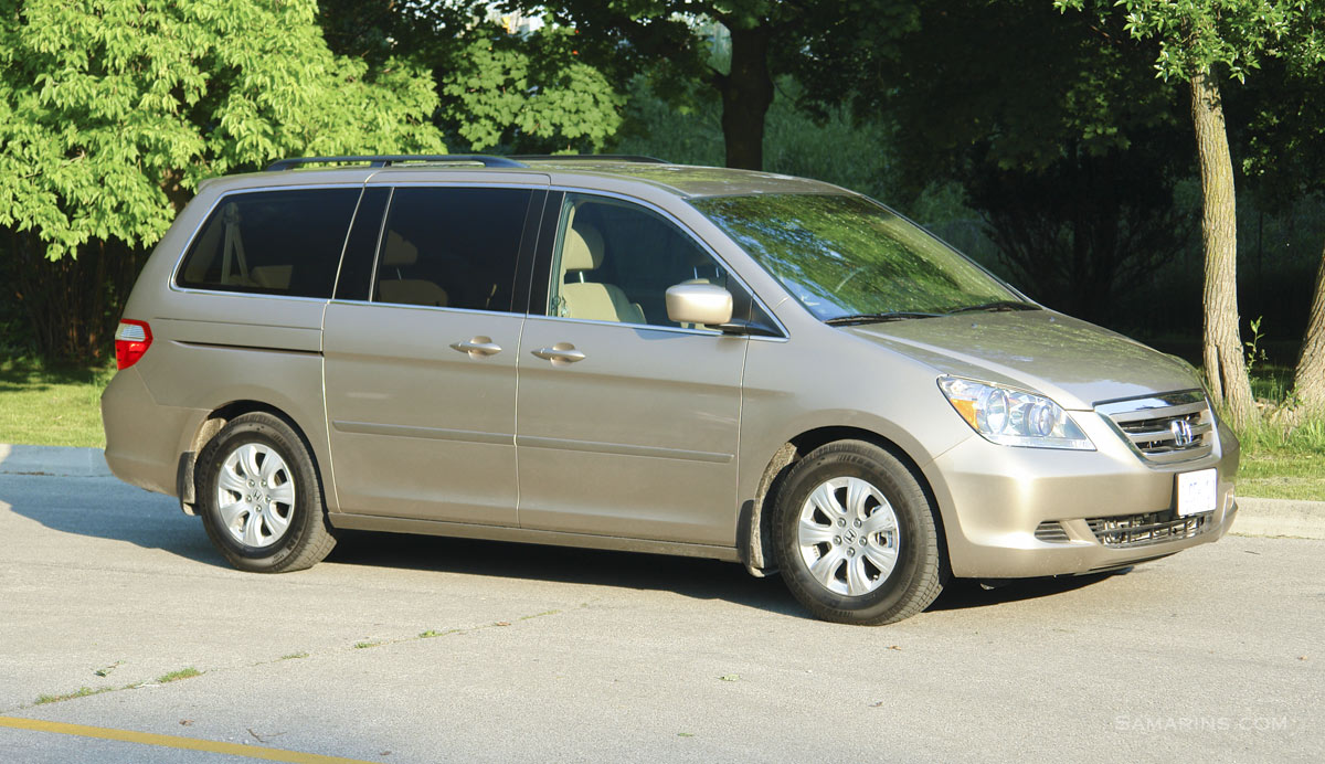 Wonderful 2007 Honda Odyssey.